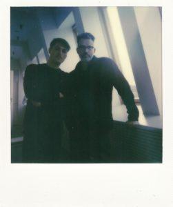 Hamburg, Januar 2019, mit Timo Blunck im BLUT-Studio.