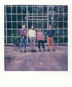 Die Band: Lukas, John, Aylin und Hauke